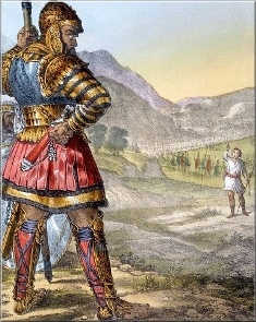 Давид и Голиат